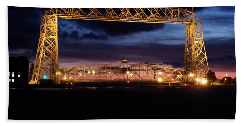 Duluth Bath Sheet featuring the photograph Feeling Minnesota by Alison Gimpel