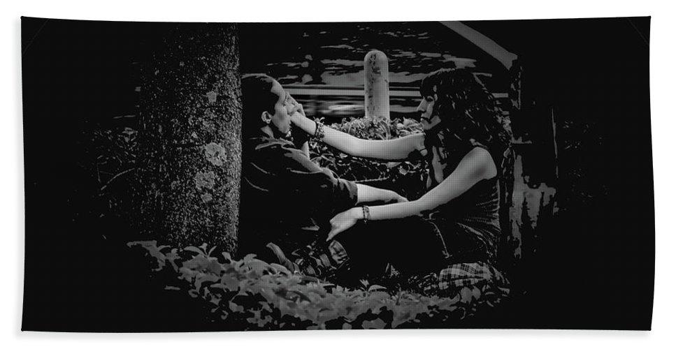 Feel Hand Towel featuring the photograph Feelings Of Love II by Al Bourassa