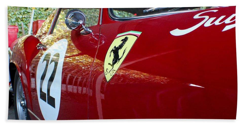 Ferrari Hand Towel featuring the photograph Ferrari 250 Gt by Robert Phelan