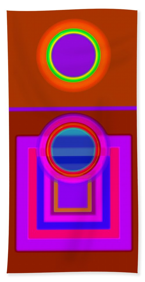 Classical Hand Towel featuring the digital art Fever Pitch by Charles Stuart