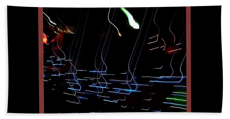 Film Noir Jim Thompson After Dark My Sweet 2 1990 Abstract Casa Grande Arizona 2000-2016 Bath Sheet featuring the photograph Film Noir Jim Thompson After Dark My Sweet 2 1990 Abstract Casa Grande Arizona 2000-2016 by David Lee Guss