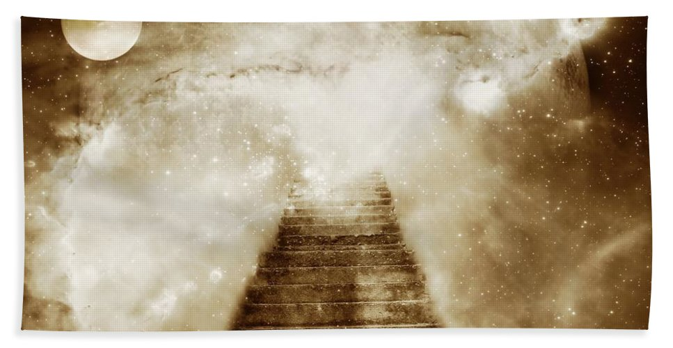 Fantasy Bath Towel featuring the photograph Final Destination by Jacky Gerritsen