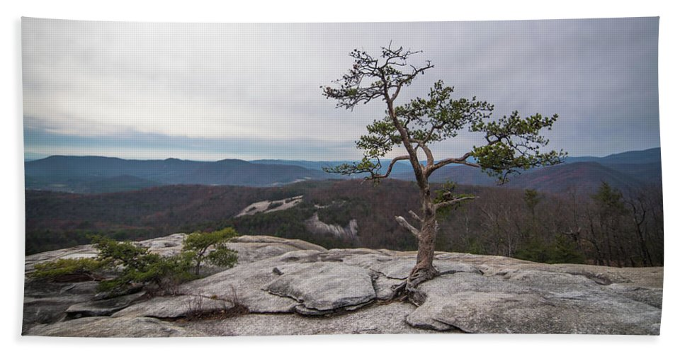 Landscape Hand Towel featuring the photograph Find A Way. by Jason Meyer