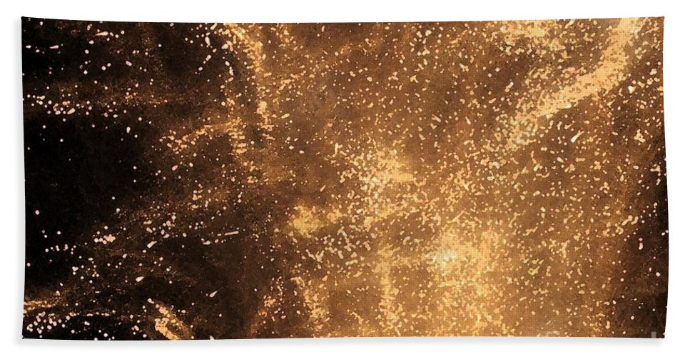Fireworks Hand Towel featuring the photograph Fired Up by Debbi Granruth
