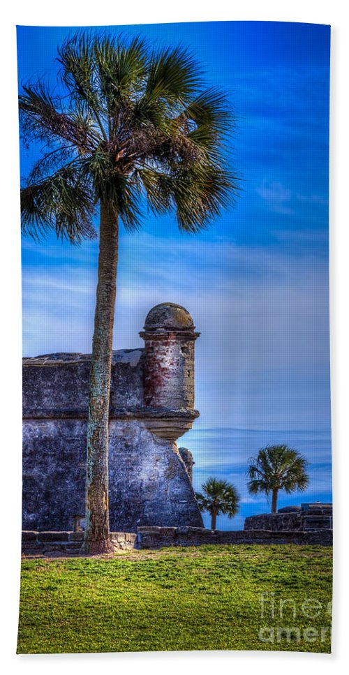 Fort Bath Towel featuring the photograph First Watch by Marvin Spates