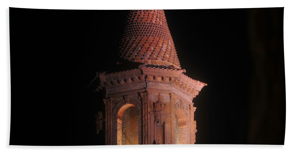 Flagler College Florida Hand Towel featuring the photograph Flagler College by David Lee Thompson