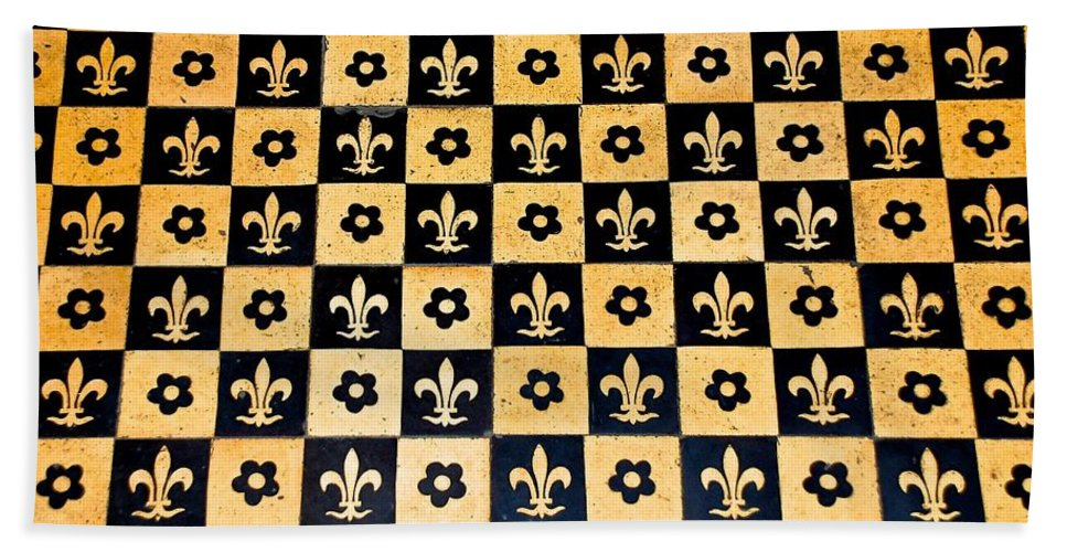 Fleur De Lis Floor Hand Towel For Sale By Eric Tressler