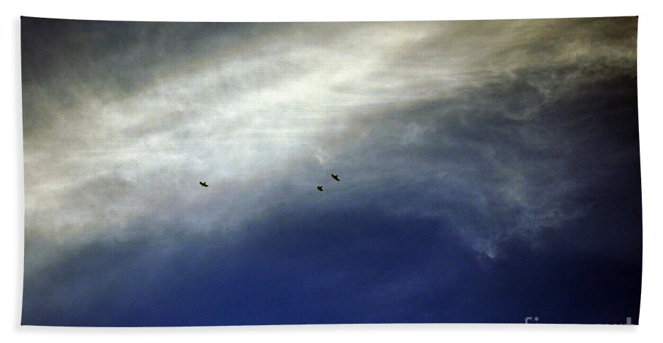 Clay Hand Towel featuring the photograph Flight by Clayton Bruster