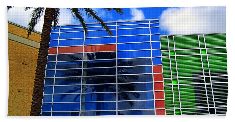 Florida Hand Towel featuring the photograph Florida Colors by Susanne Van Hulst