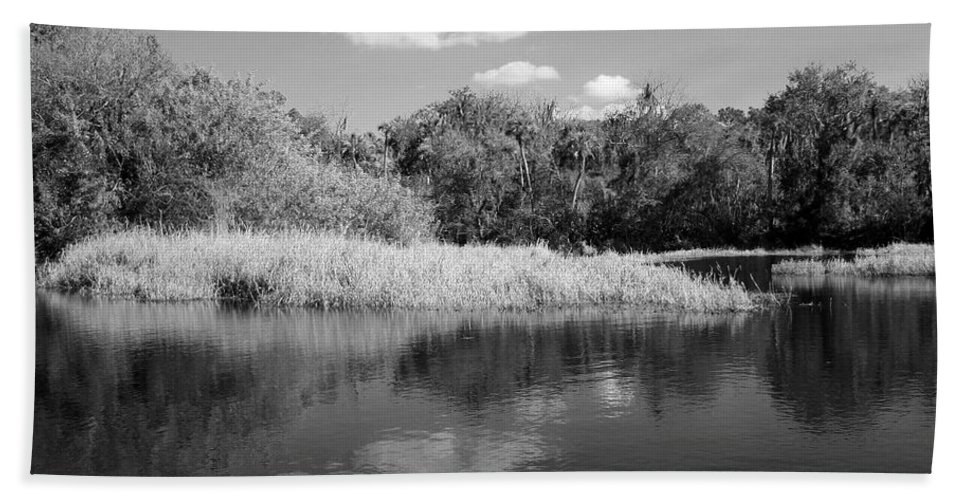 Photo For Sale Hand Towel featuring the photograph Florida Shoreline by Robert Wilder Jr