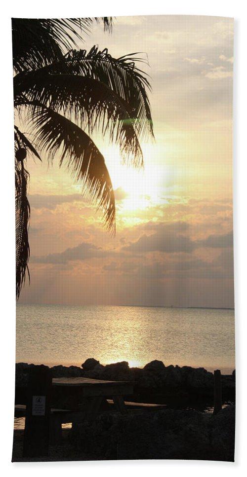 Bath Sheet featuring the photograph Florida Sunset by Darren Edwards