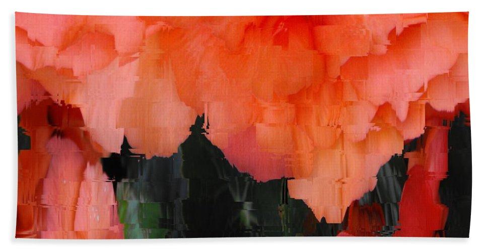 Flower Hand Towel featuring the photograph Flower 3 by Tim Allen