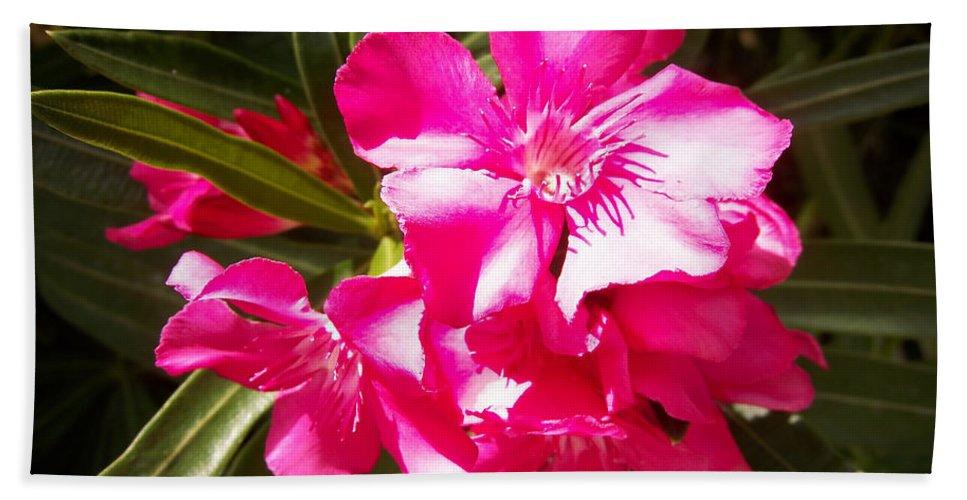 Flower Hand Towel featuring the digital art Flower by George Pasini