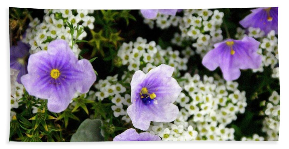 Flowers Hand Towel featuring the photograph Flowers Etc by Marty Koch
