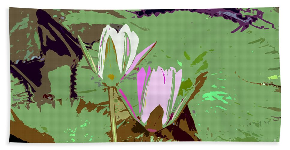 Flowers Bath Towel featuring the photograph Flowers Work Number 3 by David Lee Thompson