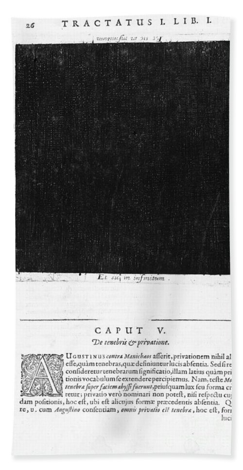 History Hand Towel featuring the photograph Fludds Dark Universe, 1617 by Wellcome Images