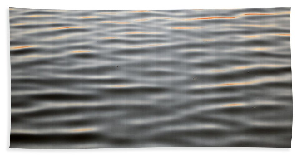 Abstract Hand Towel featuring the photograph Fluid by Michael Hills
