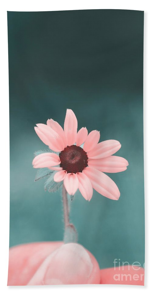 Flower Hand Towel featuring the photograph For You by Aimelle