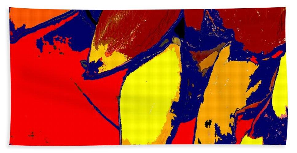 Red Bath Towel featuring the photograph Forbidden Fruit by Ian MacDonald