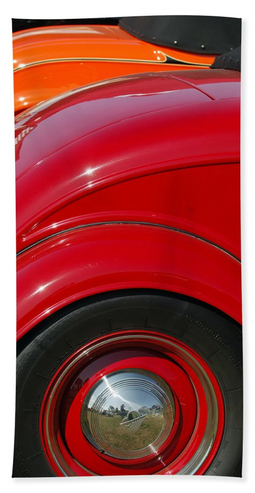 Car Bath Sheet featuring the photograph Ford Roadsters by Jill Reger
