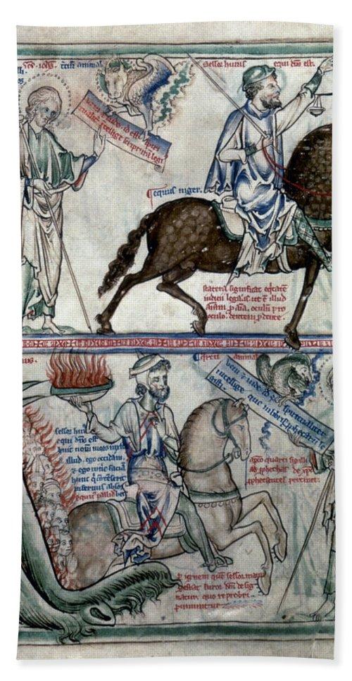 1250 Bath Sheet featuring the photograph Four Horsemen by Granger