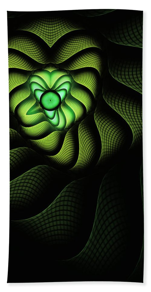 Snake Hand Towel featuring the digital art Cobra by John Edwards