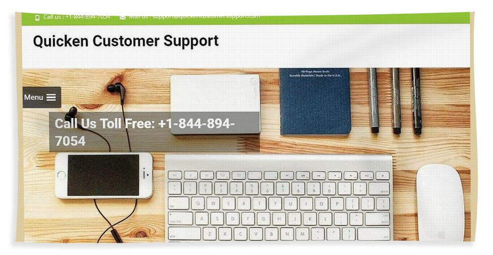 Quicken Customer Support Phone Number. Quicken Customer Service Phone Number Bath Sheet featuring the tapestry - textile Free And Fast Quicken Customer Support Phone Number @ 1-844-894-7054 by Daniel Web