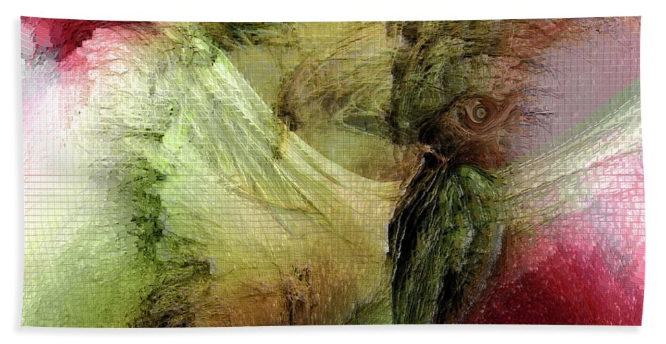 Freedom Art Hand Towel featuring the digital art Freedom by Linda Sannuti