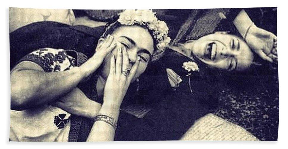 Frida Kahlo/Chavela Vargas Bath Towel for Sale by Fernando Lara