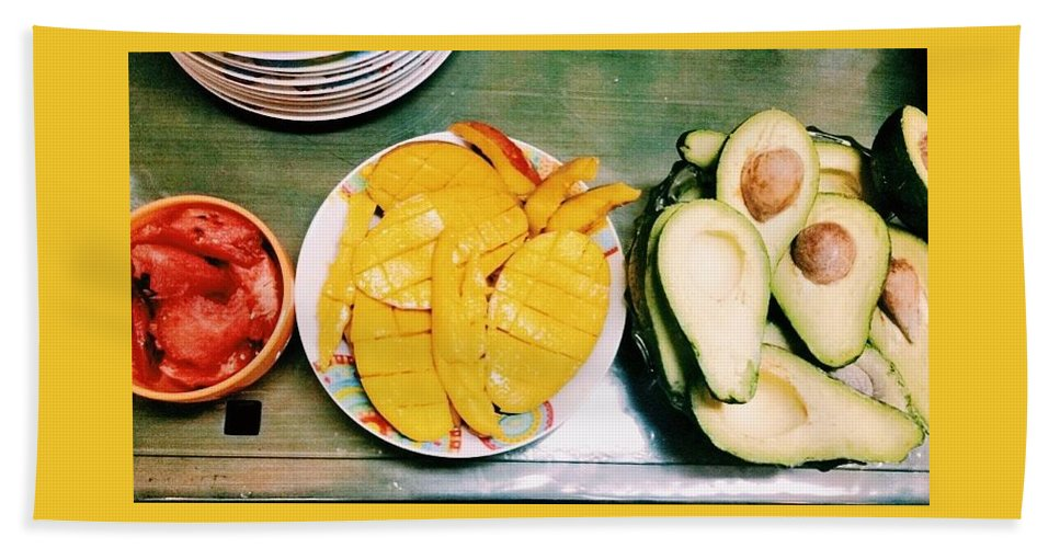 Food Bath Sheet featuring the photograph Fruits by Catia Dombaxe