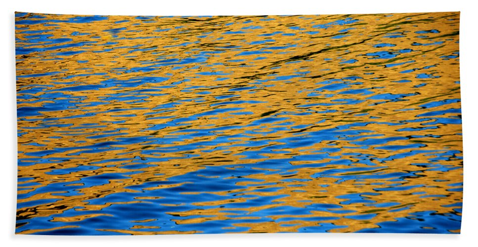 Water Bath Sheet featuring the photograph Fully Involved by Donna Blackhall