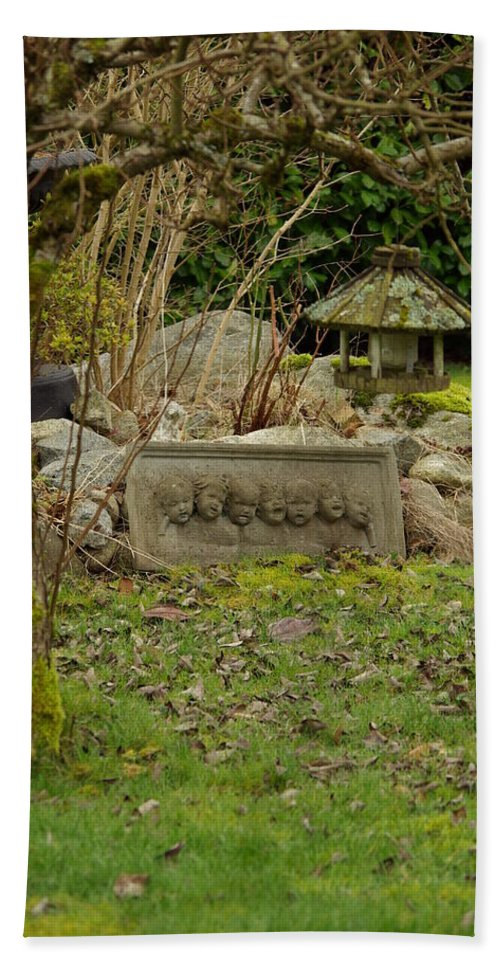 Garden Hand Towel featuring the photograph Garden Babies by Cindy Johnston