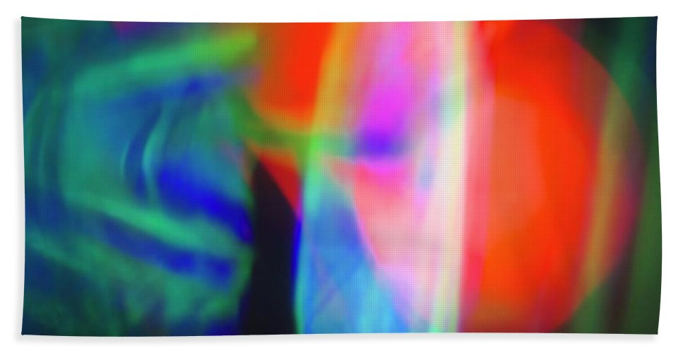 Red Bath Sheet featuring the photograph Gathering Power by Stephen Hunter