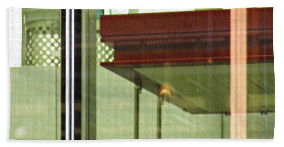 Glass Hand Towel featuring the photograph Geneva Airport 5 by Sarah Loft
