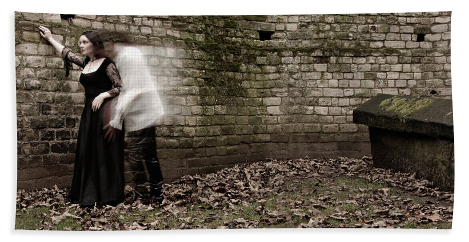Ghost Bath Sheet featuring the photograph Ghosts In The Crypt by Scott Sawyer