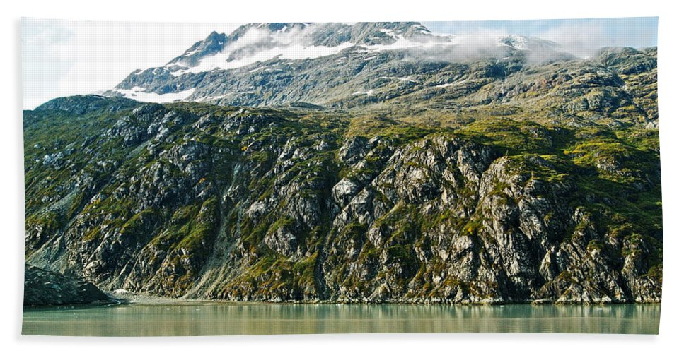 Glacier Bay Hand Towel featuring the photograph Glacier Bay 2 by Michael Peychich