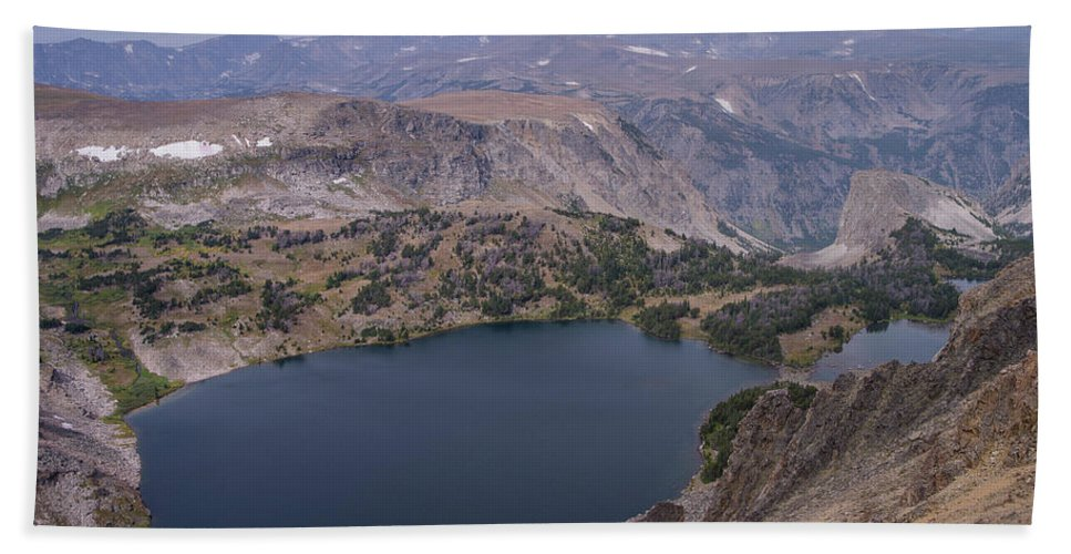 Montana Hand Towel featuring the photograph Glacier Lake 3 by Tracy Knauer