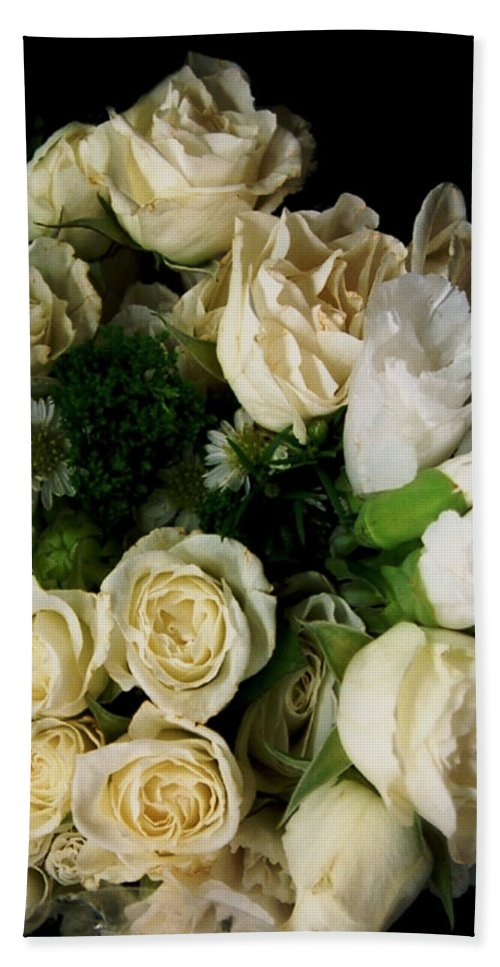 Roses Hand Towel featuring the photograph Glamour by RC deWinter