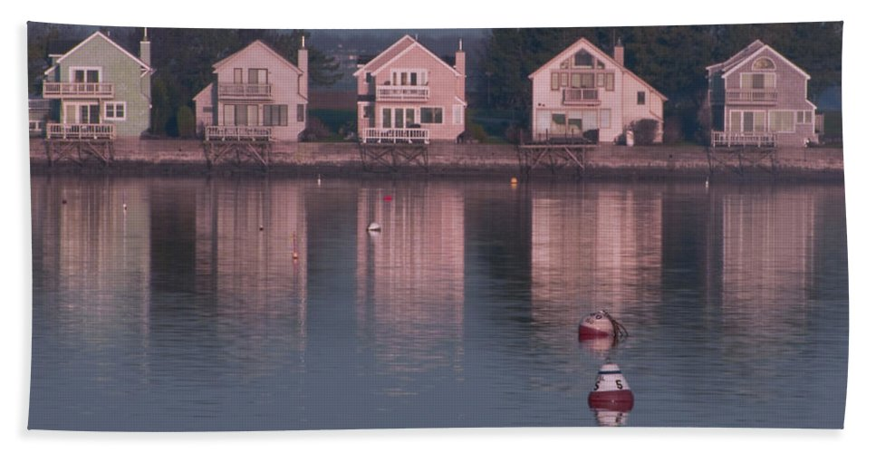 Goat Island Bath Sheet featuring the photograph Goat Island by Steven Natanson