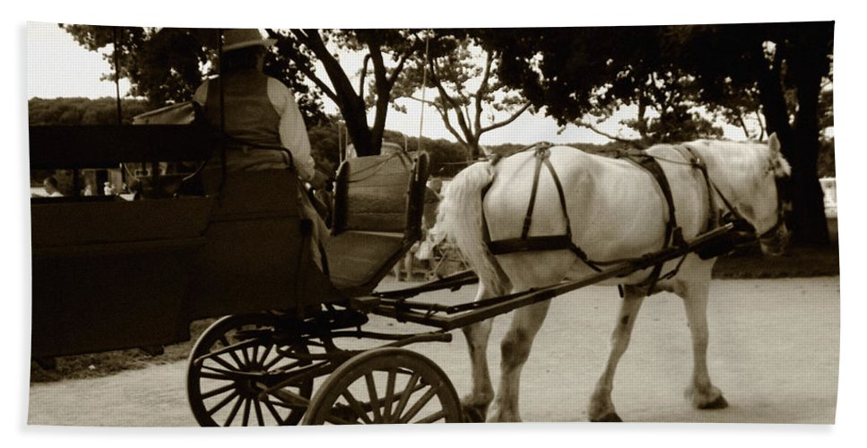 Driver Bath Sheet featuring the photograph Going Home by RC DeWinter