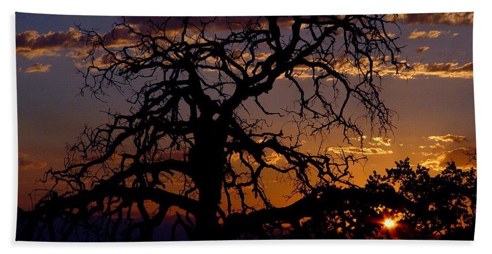 Sunset Bath Towel featuring the photograph Golden Hour by Peter Piatt