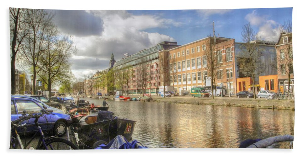 Amsterdam Bath Sheet featuring the photograph Good Morning Amsterdam by Dolly Sanchez