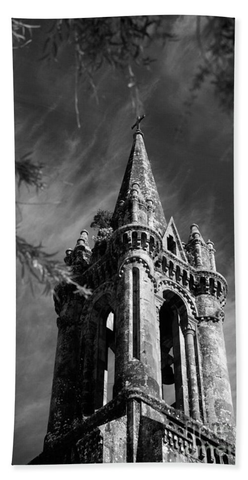 Azores Hand Towel featuring the photograph Gothic Style by Gaspar Avila