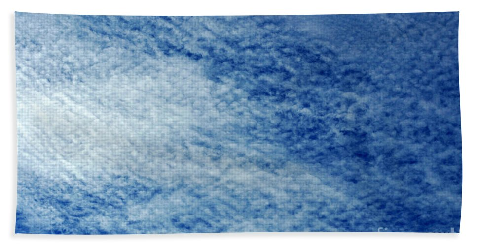 Clay Hand Towel featuring the photograph Grainy Sky by Clayton Bruster