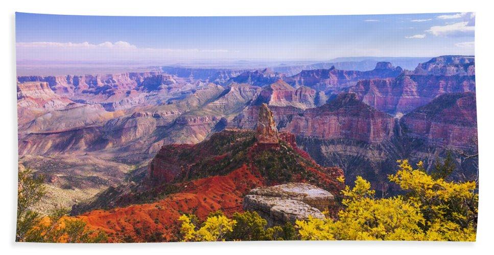 Grand Arizona Bath Towel featuring the photograph Grand Arizona by Chad Dutson