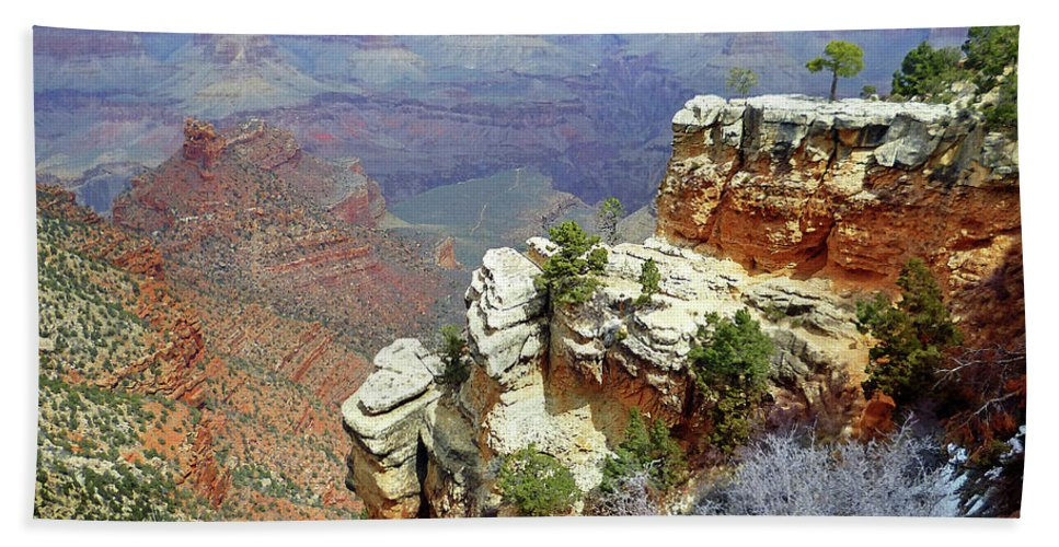 Grand Canyon Bath Towel featuring the photograph Grand Canyon Arizona by Irina Sztukowski