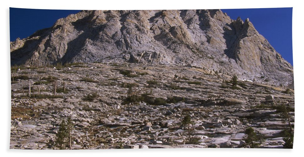 Granite Mountain Hand Towel featuring the photograph Granite Mountain by Soli Deo Gloria Wilderness And Wildlife Photography