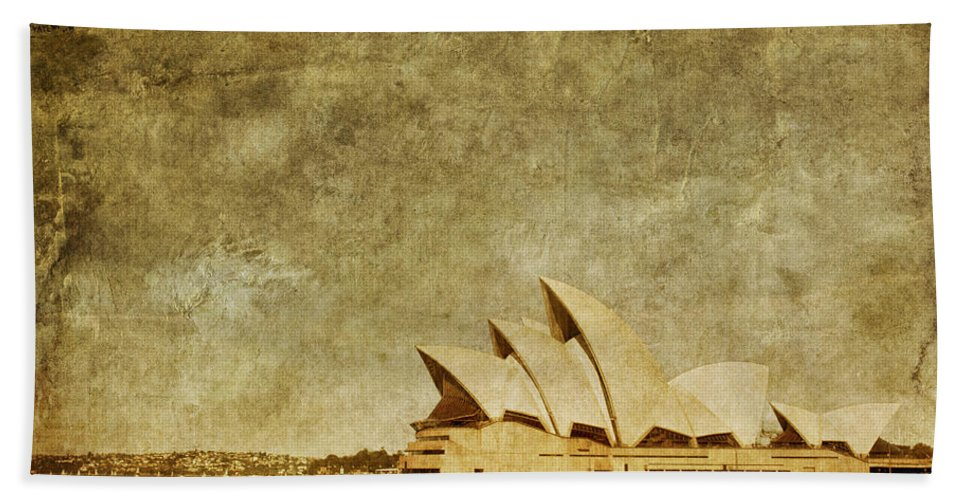 Sydney Bath Towel featuring the photograph Guided Tour by Andrew Paranavitana