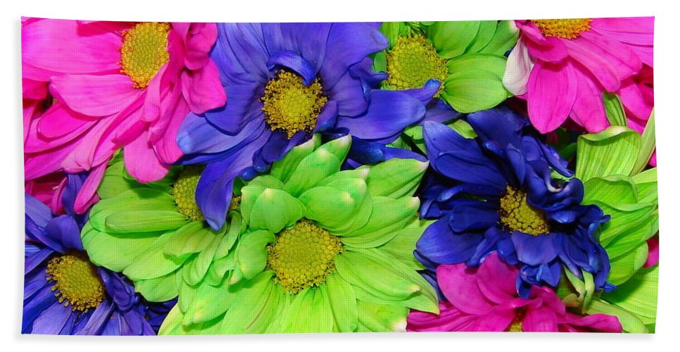Flowers Hand Towel featuring the photograph Happiness by J R  Seymour