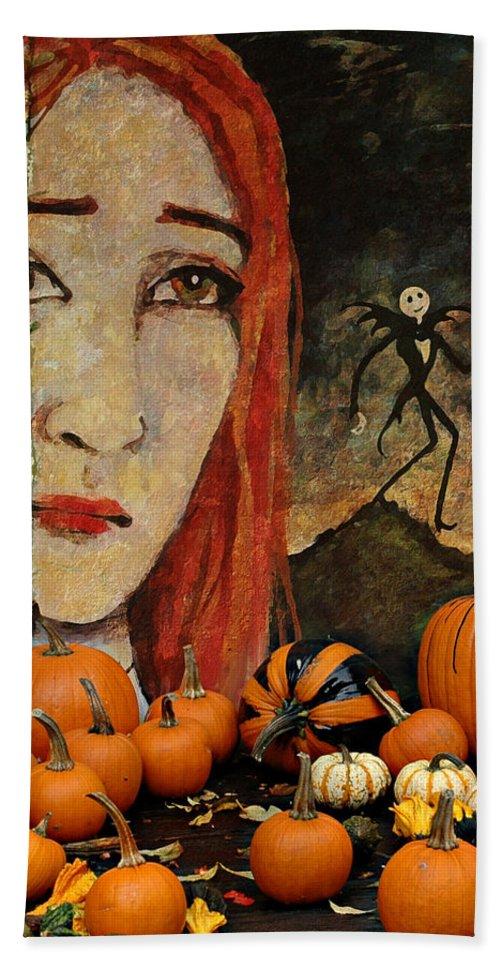 Halloween Bath Sheet featuring the photograph Happy Halloween by Jeff Burgess